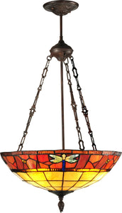 Dale Tiffany Genoa 3-Light Pendant Antique Bronze Paint TH12230