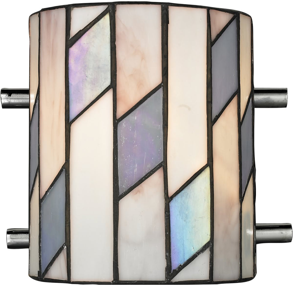 "7""w Glacier 1-Light Wall Sconce Chrome"