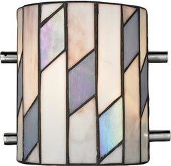 Dale Tiffany Glacier 1-Light Wall Sconce Chrome TW13015