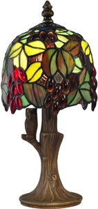 Grape Vine Tiffany Accent Lamp Antique Bronze