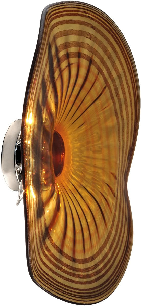 Save on Dale Tiffany Handover Art Glass Wall Sconce Antique Bronze ...