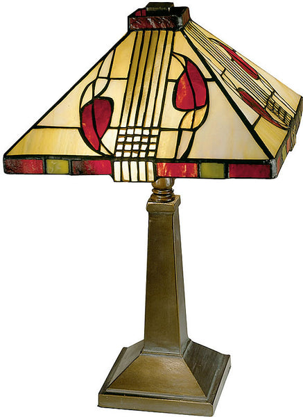 Dale Tiffany Henderson Table Lamp Antique Bronze 2724797
