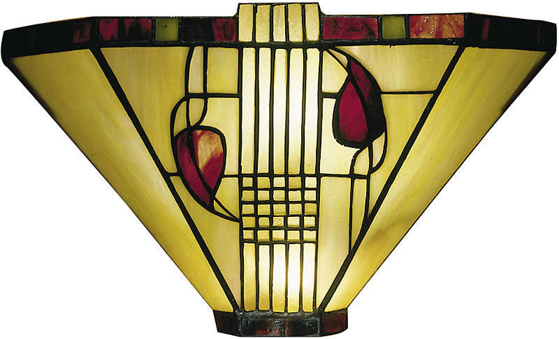 "14""w Henderson Tiffany Wall Sconce Tiffany"