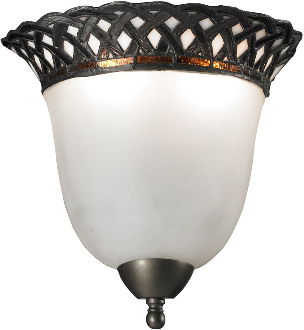 "10""w Hillcrest 2-Light Wall Sconce Dark Bronze"