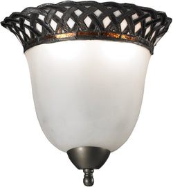 Dale Tiffany Hillcrest 2-Light Wall Sconce Dark Bronze TW12318