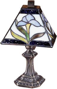 Dale Tiffany Irene Tiffany Accent Lamp Antique Bronze TA100353