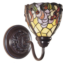 "10""w Jacqueline Fancy Wall Sconce Bronze"