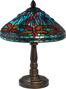Laburnam Tiffany Accent Lamp Antique Bronze