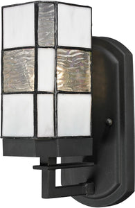 Dale Tiffany Landis 1-Light Wall Sconce Matte Coffee Black TW13019