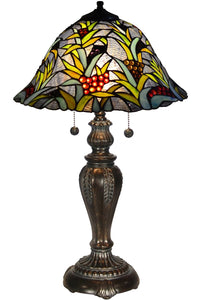Dale Tiffany Leia Tiffany Table Lamp Antique Bronze TT14295
