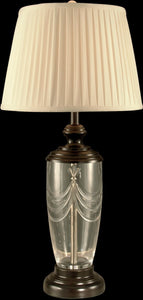 Dale Tiffany 1-Light Crystal Table Lamp Oil Rubbed Bronze GT11225