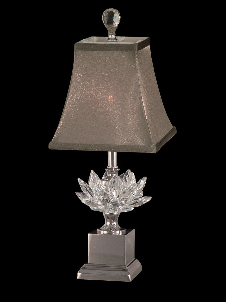 Lucinda 1-Light Accent Lamp Polished Nickel