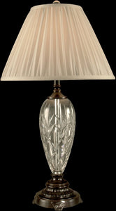 Dale Tiffany 1-Light Crystal Table Lamp Oil Rubbed Bronze GT11224