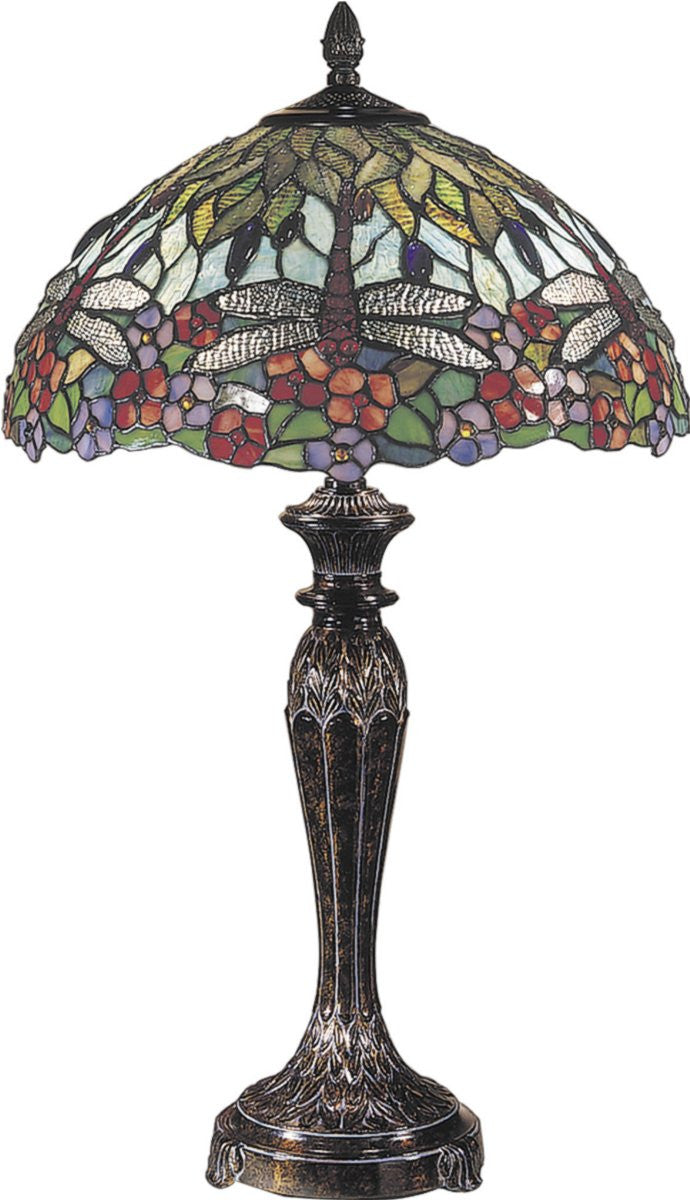 "29""H Lydia 2-Light Table Lamp Fieldstone"