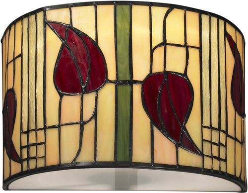Dale Tiffany Macintosh 1-Light Wall Sconce Dark Bronze TW12324