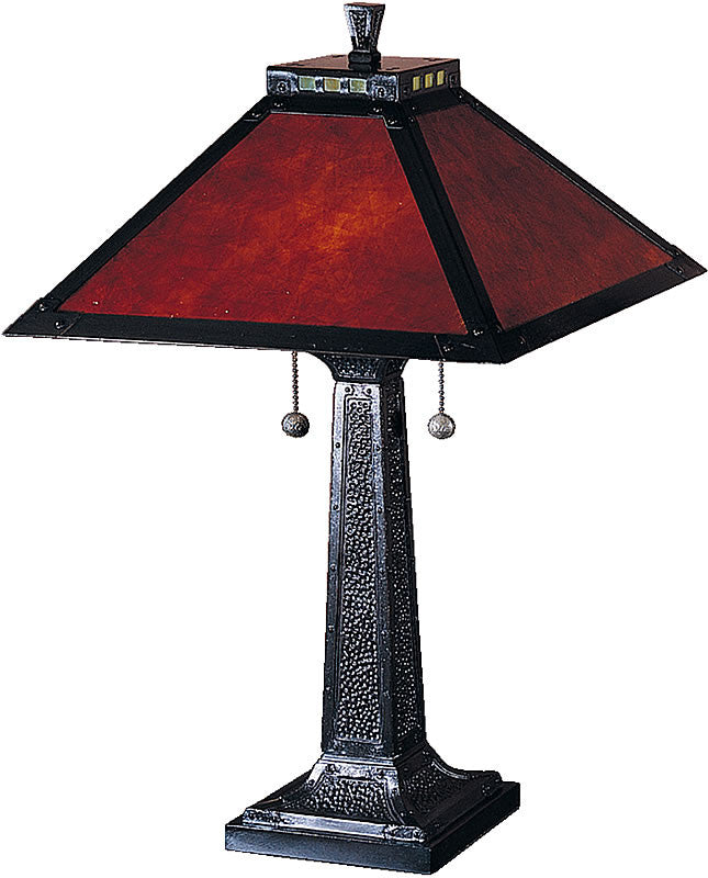 "25""h Mica Camelot Table Lamp Mica Bronze"
