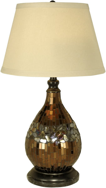 Dale Tiffany 1-Light Tiffany Table Lamp Dark Antique Bronze PG10354