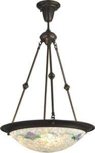 Dale Tiffany Nessa 2-Light Pendant Antique Bronze  TH12280