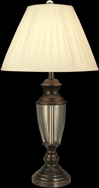 Dale Tiffany 1-Light Crystal Table Lamp Oil Rubbed Bronze GT11221