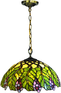 Pinot Tiffany Pendant Antique Bronze
