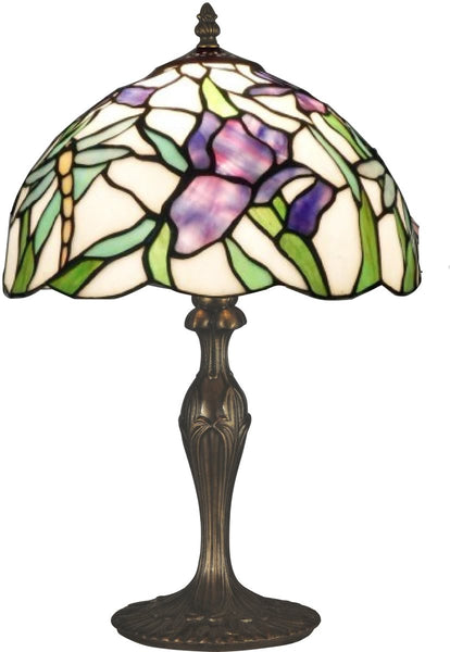 Dale Tiffany Prosa 1-Light Table Lamp Antique Bronze Paint TT12338