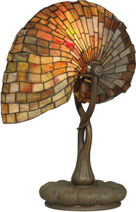 Dale Tiffany 1-Light Tiffany Table Lamp Antique Bronze TT90434