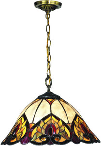 Reservoir Tiffany Pendant Antique Bronze