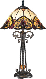 Dale Tiffany Reservoir Tiffany Table Lamp Antique Bronze TT14245
