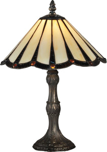 Ripley Tiffany Accent Lamp Antique Bronze
