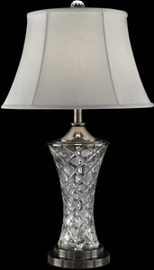 Dale Tiffany Rockledge Crystal Table Lamp Antique Bronze GT13266