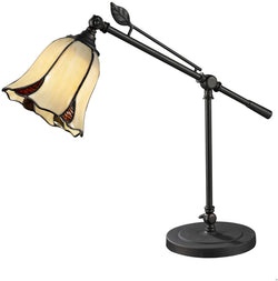 "19""h San Antonio 1-Light Table Lamp Dark Bronze"