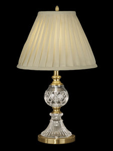 Dale Tiffany Savoy 1-Light Table Lamp Antique Brass  GT10367