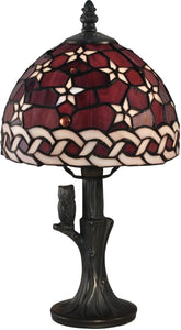 Dale Tiffany Star Tiffany Accent Lamp Antique Bronze TA15059