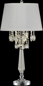 Dale Tiffany Static  Crystal Table Lamp Antique Bronze GT14317