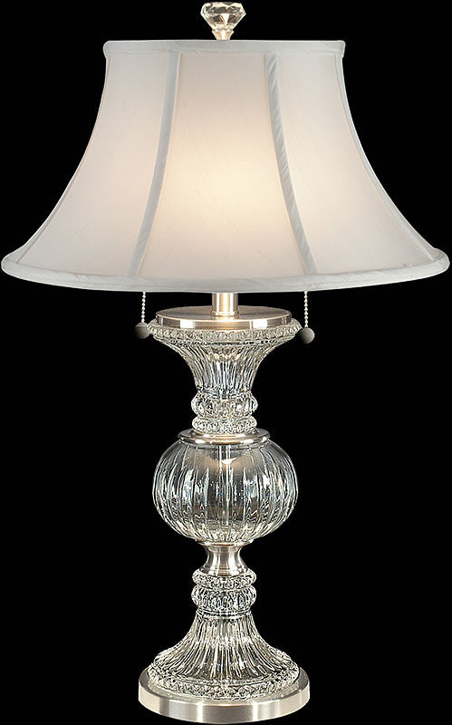 Dale tiffany granada table lamp brushed nickel gt60653 lampsusa granada 27h crystal table lamp brushed nickel aloadofball Image collections