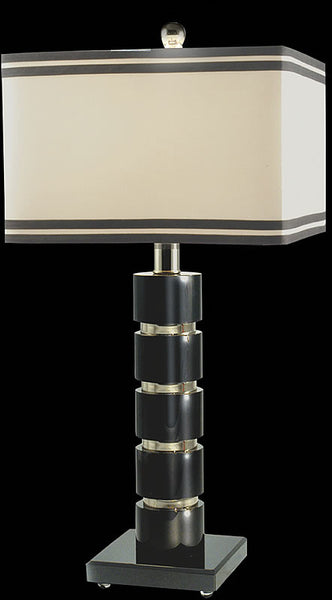 Dale Tiffany Prentiss Table Lamp Chrome GT70390