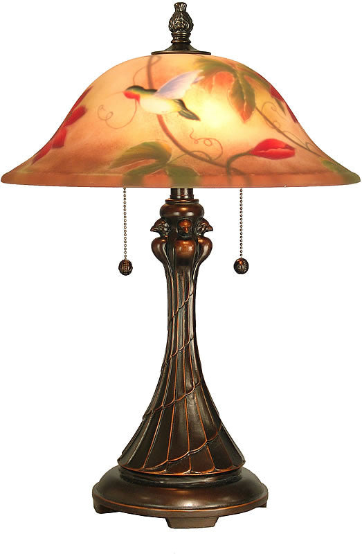 "23""h Tropical Sun Table Lamp Antique Bronze/Sand"
