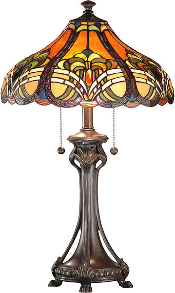 Dale Tiffany Bellas Table Lamp Weather Ford TT101033