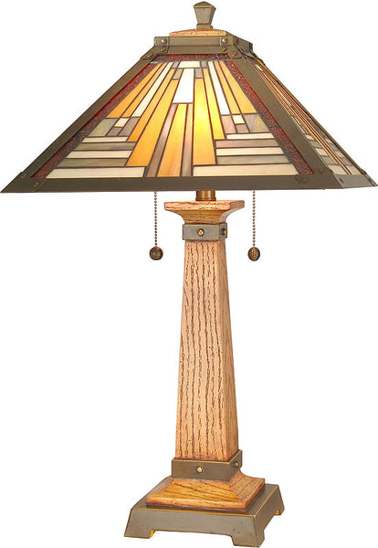 Dale Tiffany Thunder Tiffany Table Lamp TT60287