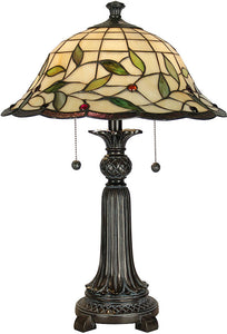 "20""h Donavan Table Lamp Mica Bronze"