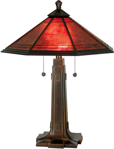 Dale Tiffany Camillo Table Lamp Antique Bronze TT80172