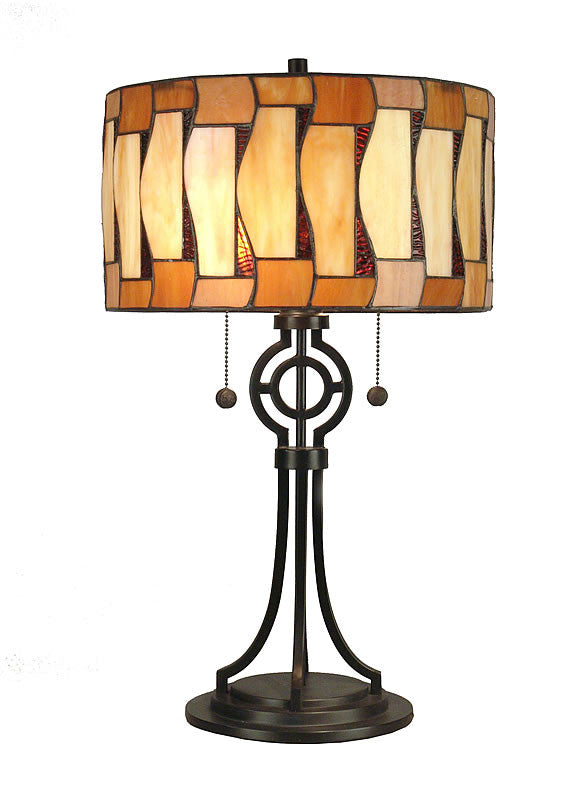 "24""H Addison Table Lamp Antique Bronze"