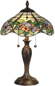 Dale Tiffany Chicago Table Lamp Antique Bronze TT90179