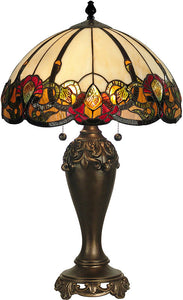 Dale Tiffany Northlake Table Lamp Dark Antique Bronze TT90235