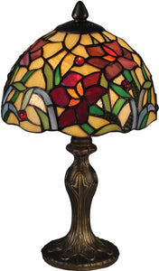 Teller Tiffany Accent Lamp Antique Bronze