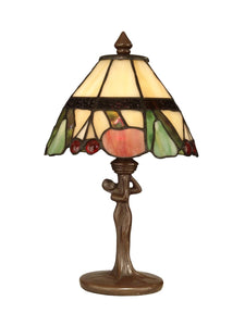 Dale Tiffany 1-Light Tiffany Accent Lamp Antique Bronze TA10605