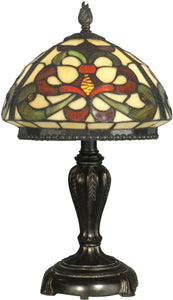 Dale Tiffany 1-Light Tiffany Table Lamp Fieldstone TT10065