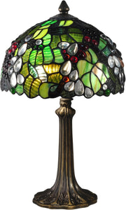Tioga Tiffany Accent Lamp Antique Bronze