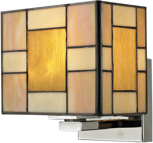 "7""w Trovita 1-Light Wall Sconce Brushed Nickel"