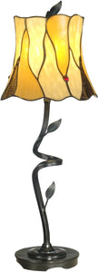 Dale Tiffany 1-Light Tiffany Table Lamp Antique Bronze TB11030